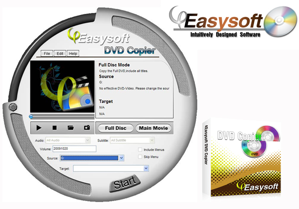 How to Copy and Backup DVDs Interface