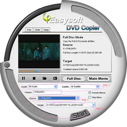 How to Copy and Backup DVDs Steps