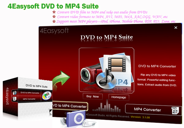 Share an Easy Way to Convert DVD and Video to MP4 Interface