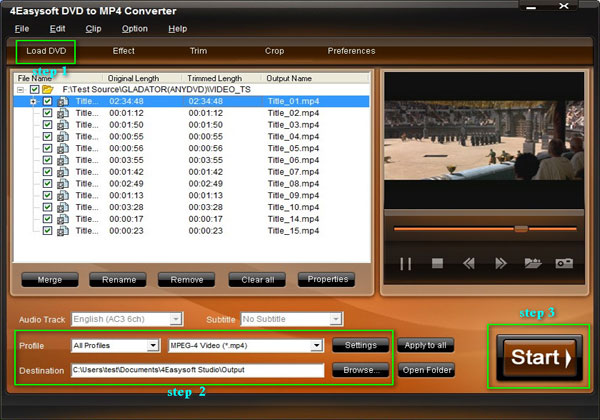Share an Easy Way to Convert DVD and Video to MP4 Steps