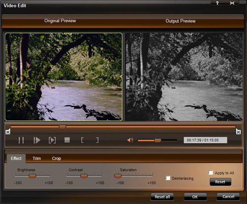 How to put any DVD and video on walkman Effect