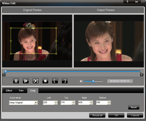How to convert HD videos to WMV for Windows Movie Maker Crop