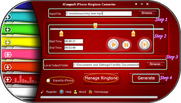 iPhone Ringtone Converter
