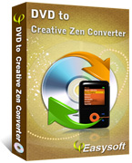 4Easysoft DVD to Creative Zen Converter Box