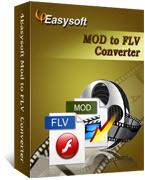 4Easysoft Mod to FLV Converter boxshot