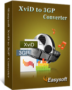 4Easysoft XviD to 3GP  Converter