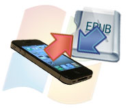 Transfer ePub to iPhone 4G