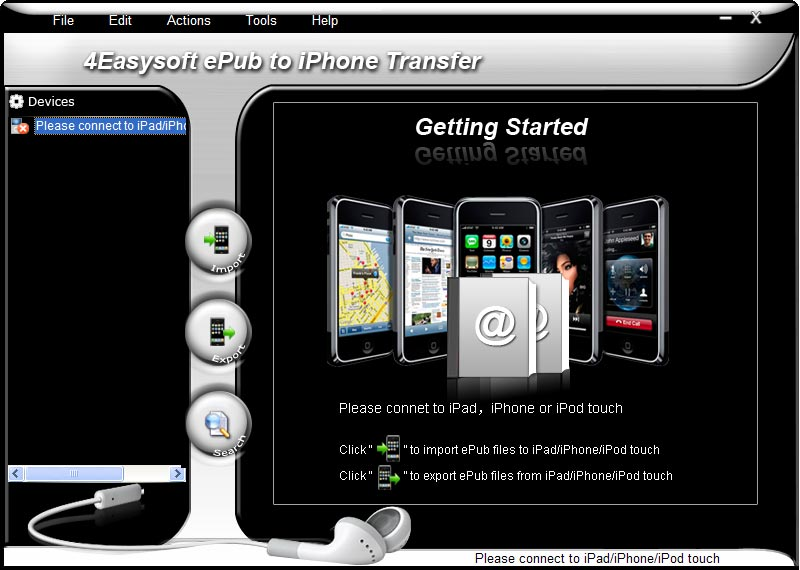 An user-friendly ePub to iPhone Transfer.