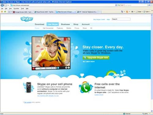 Best chat software—Skype