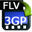 4Easysoft FLV to 3GP Video Converter icon