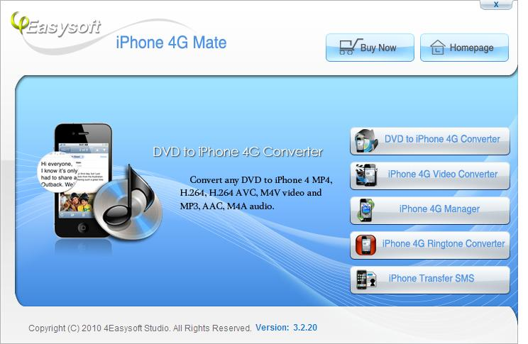 4Easysoft iPhone 4G Mate