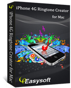 4Easysoft iPhone 4G Ringtone Creator for Mac Box