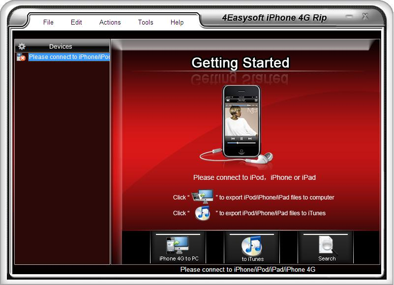4Easysoft iPhone 4G Rip 3.2.20