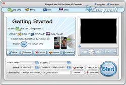 Mac DVD to iPhone 4G Converter