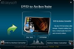 DVD to Archos Suite