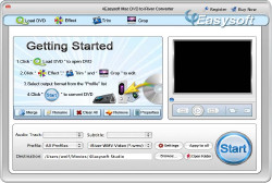 Mac DVD to iRiver Converter