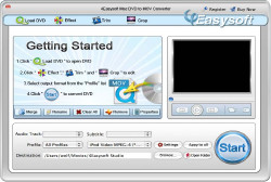 Mac DVD to MOV Converter