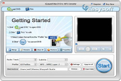 Mac DVD to MP3 Converter