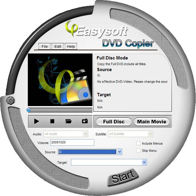 Click to view 4Easysoft DVD Copier 3.3.26 screenshot