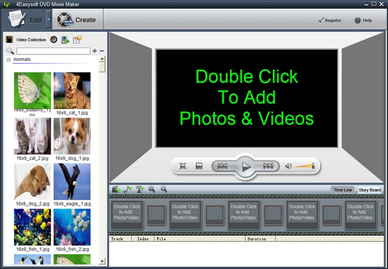 Click to view 4Easysoft DVD Movie Maker screenshots