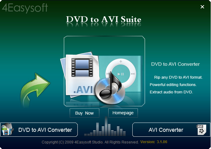 Click to view 4Easysoft DVD to AVI Suite screenshots