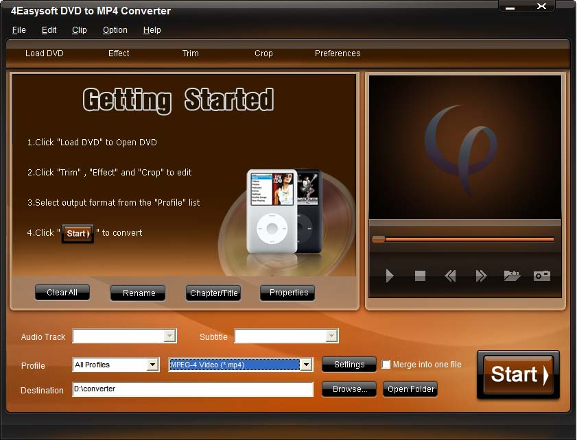 DVD to MP4 Converter, DVD to MP4, convert DVD to MP4, rip DVD to MP4, DVD film c