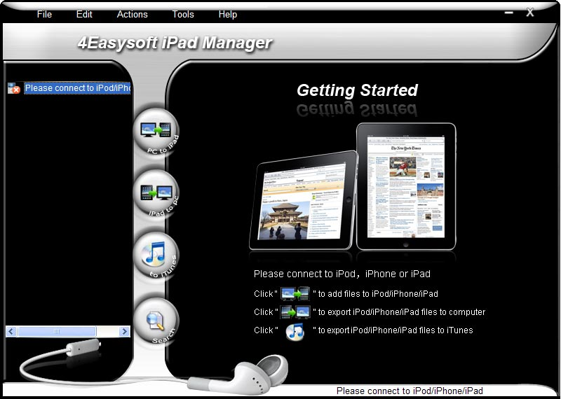 Click to view 4Easysoft iPad Manager screenshots