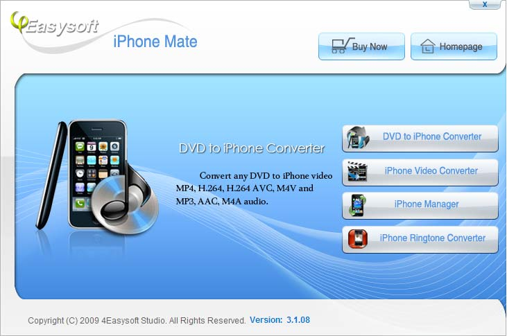 iPhone software, iPhone 3G software, iPhone rip software, iPhone converter softw