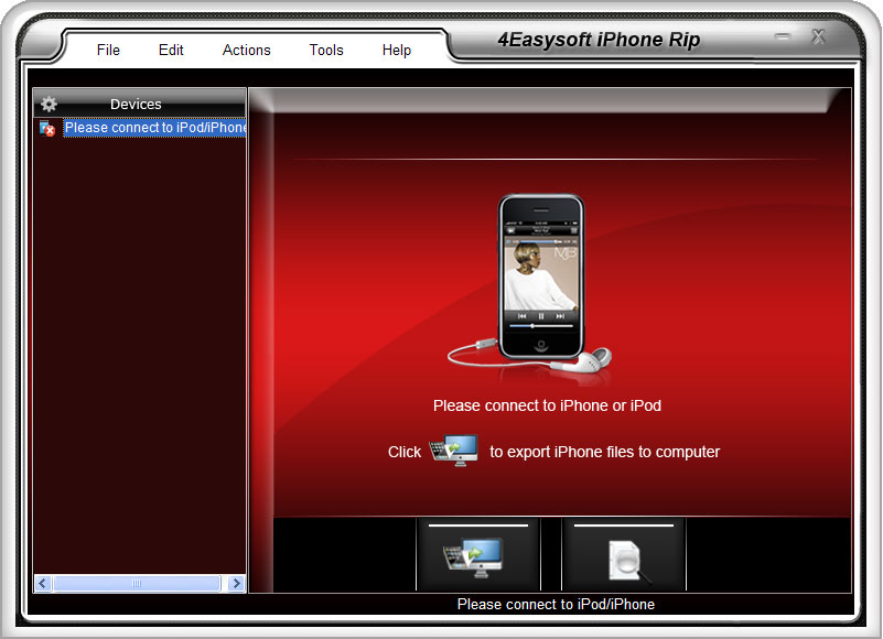 Click to view 4Easysoft iPhone Rip screenshots