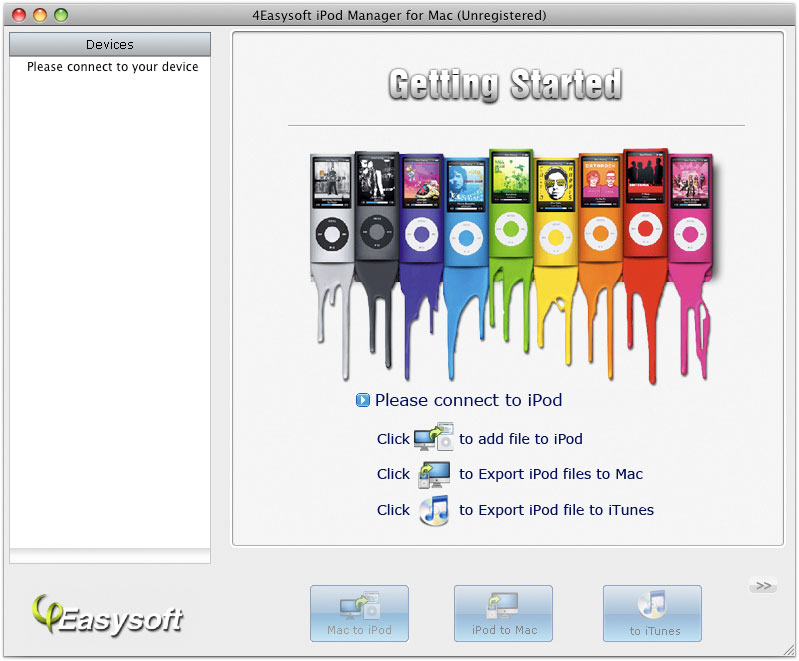 4Easysoft iPod Manager for Mac 3.1.30