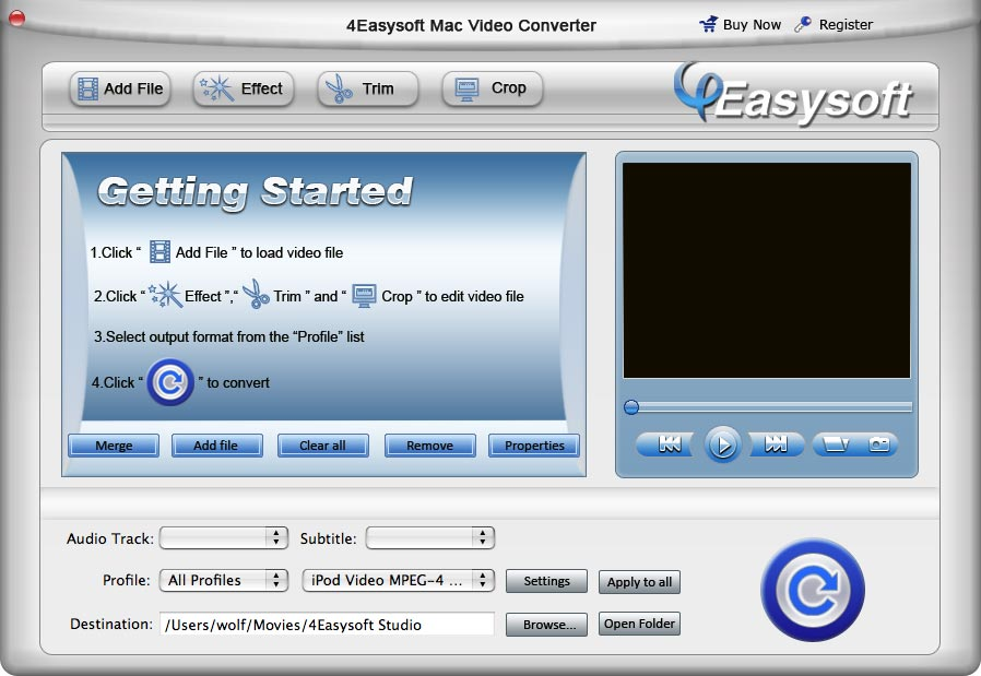4Easysoft Mac Video Converter