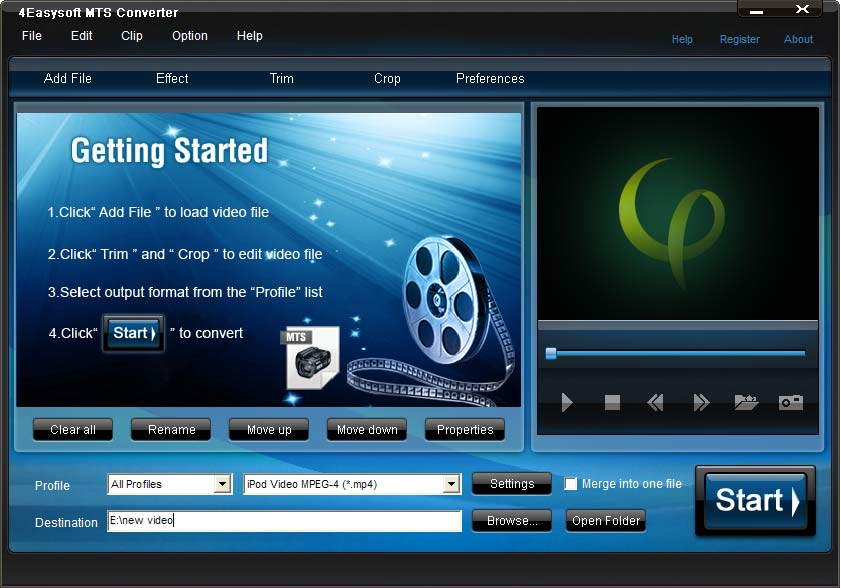 MTS Video Converter, MTS Converter, MTS file Converter, convert MTS video, MTS t