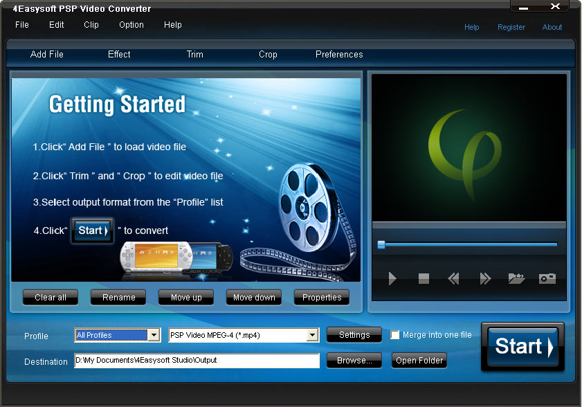 4Easysoft PSP Video Converter