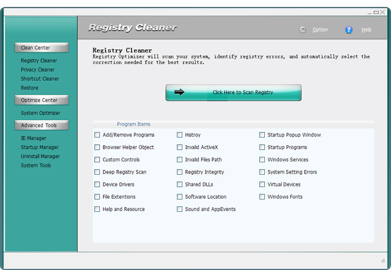 4Easysoft Registry Cleaner