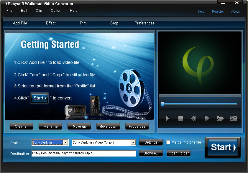 4Easysoft Walkman Video Converter
