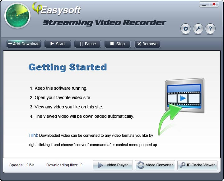 Click to view 4Easysoft Streaming Video Recorder screenshots