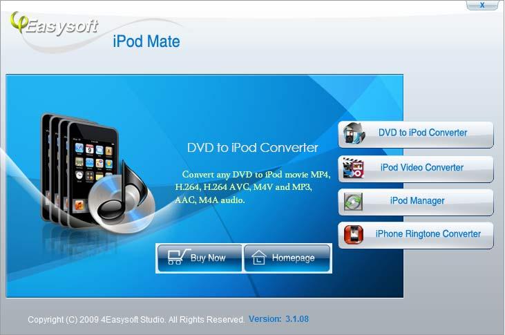 4Easysoft iPod Mate